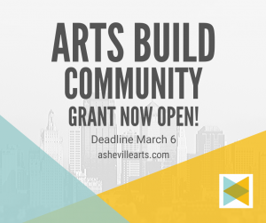 Arts Build Community Grant Now Open