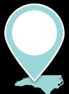 North Carolina Map Pin