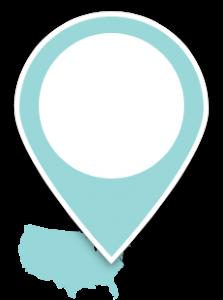 United States Map Pin