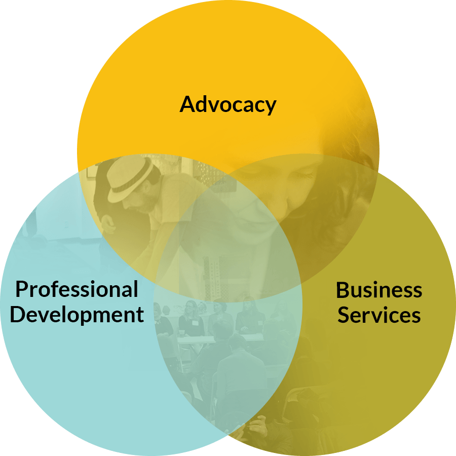 AAAC - Mission Sectors, Advocacy, Professional Development, and Business Services