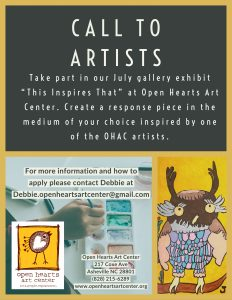 Open Hearts Call for Artists