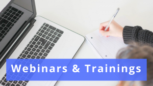 Webinars & Trainings