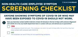 Employee Screening Checklist