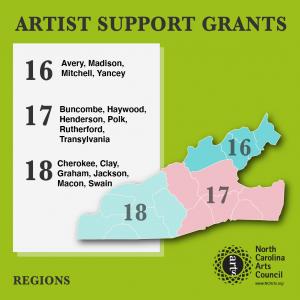 Artist Support Grant Region 17