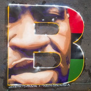 AVL BLM Mural- B