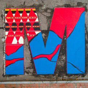 AVL BLM Mural- M
