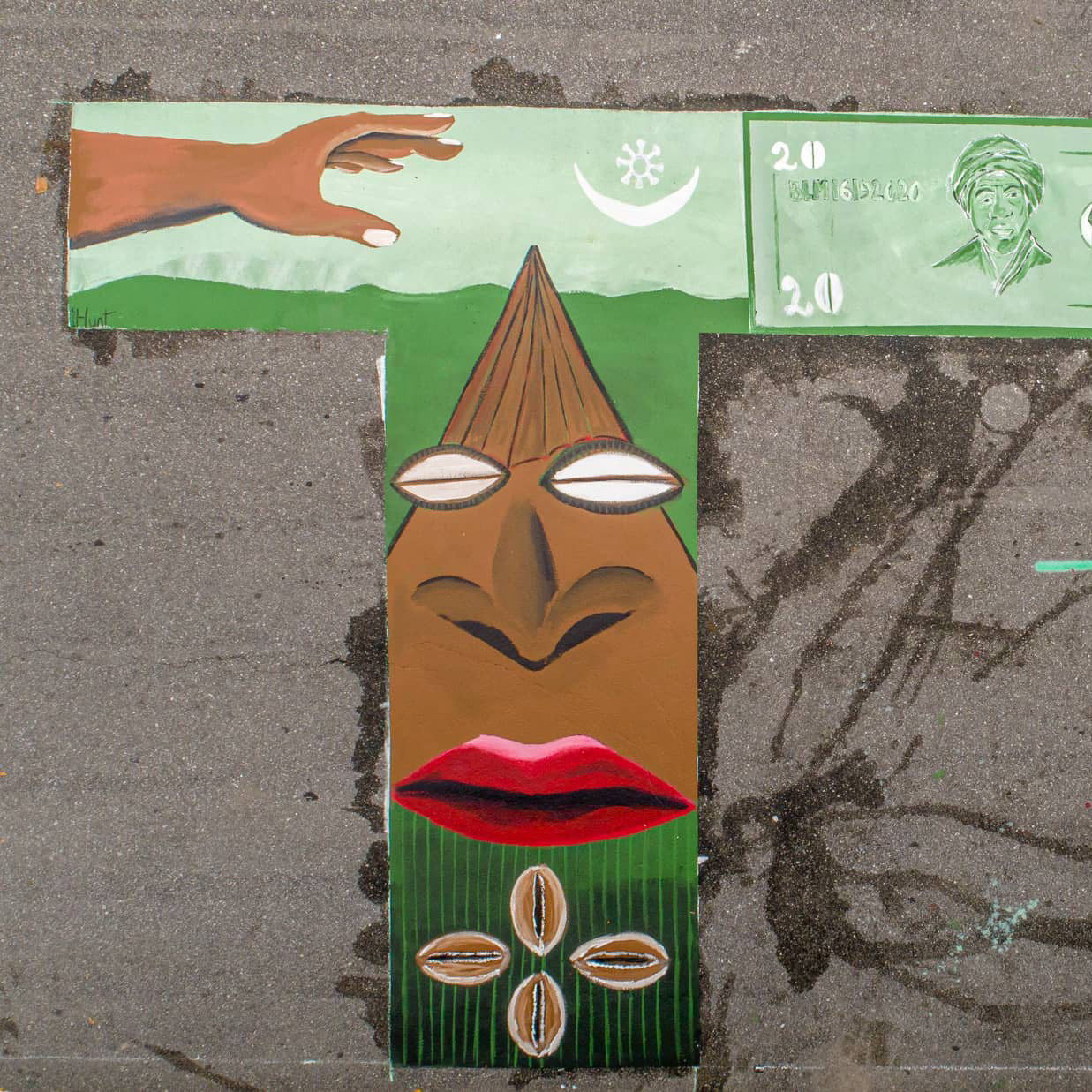 AVL BLM Mural- TT