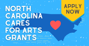 NC CARES for the Arts Logo