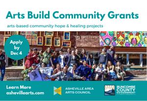 Arts Build Community Grants