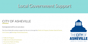 Local Government Support