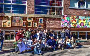 Outdoor Gallery at BeLoved Asheville
