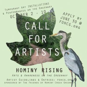 Hominy Rising Call for Artists